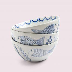 Ensaladeras, bowls y tazas